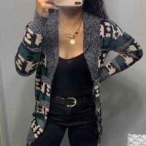 Urban Outfitters Boho Hippy Sweater Cardigan SZ XS